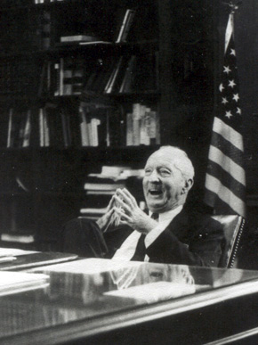 Clay County native and U.S. Supreme Court Justice Hugo Black was responsible for some of the most progressive civil and legal reforms in the 20th century. He is remembered as a tireless advocate for minority rights and as a fierce defender of the First Amendment. (From Encyclopedia of Alabama, Alabama Department of Archives and History)